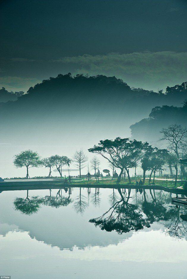 ay köprüsü büyük göl tayvan-2